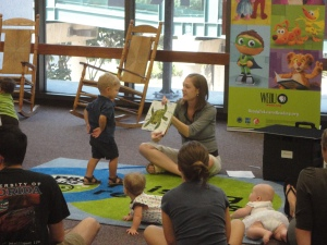 Baby Time at the John F. Germany Library